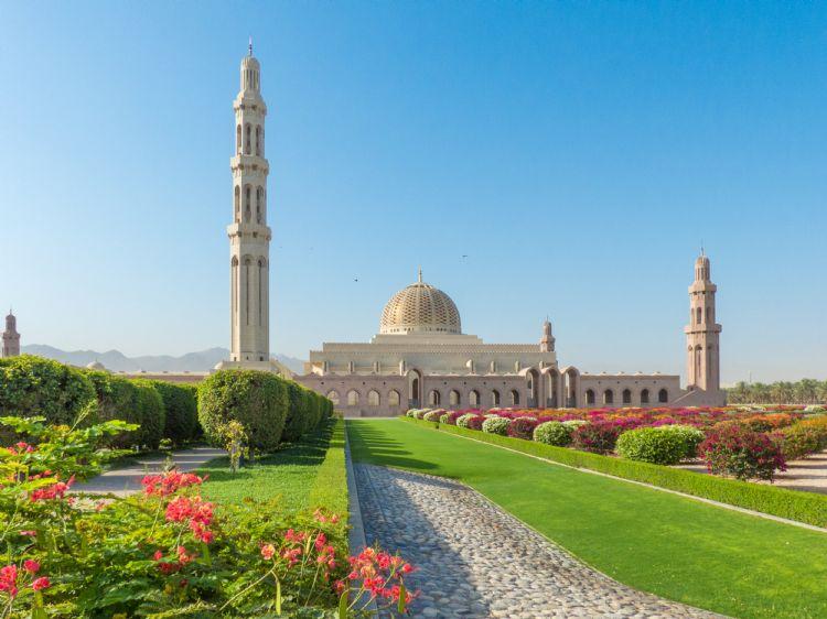Grande Mosquée du Sultan Qaboos à Mascate