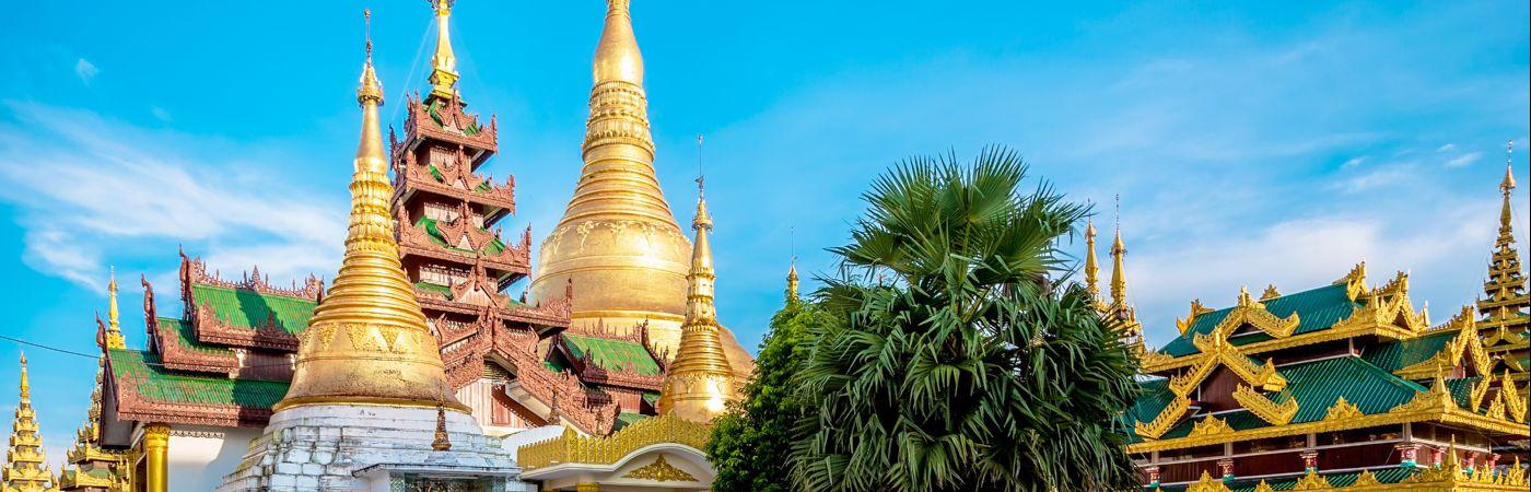 Pagode Shwedagon à Rangoun