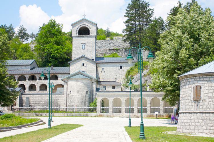 Monastère orthodoxe à Cetinje