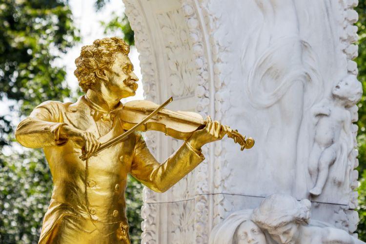 Monument Johann-Strauss à Vienne