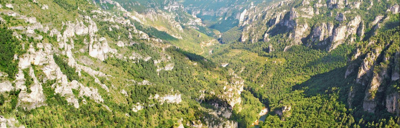 Point Sublime dans les gorges du Tarn