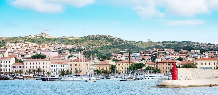 Île de la Maddalena en Sardaigne