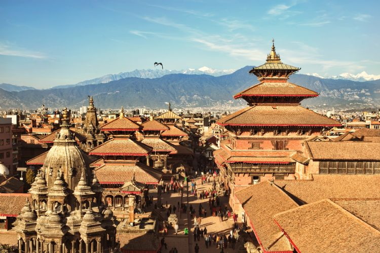 Place du Darbâr à Patan